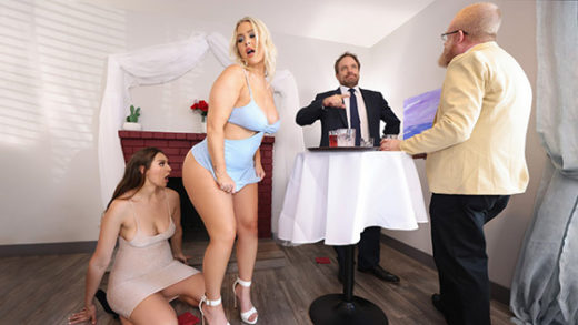 [HotAndMean] Bella Rolland, Jenna Starr (Oyster Party Fuckfest Part 1 / 09.03.2021)
