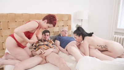 Old people are not boring in bed