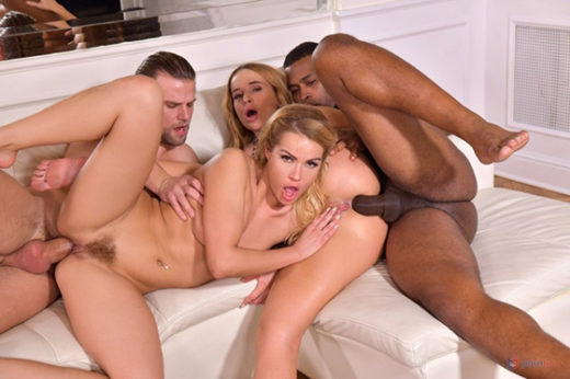 [PornWorld] Cherry Kiss, Kaisa Nord (Interracial DP Foursome With Cheating Husband and Wife and Their Fuck Buddies / 10.13.2021)