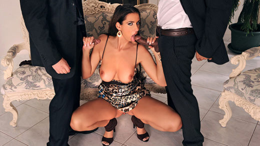[Private] Lisa Sparkle (Enjoys Interracial Threesome with Anal / 10.04.2021)