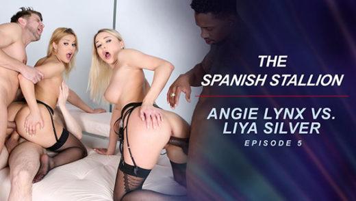 [RoccoSiffredi] Cherry Kiss, Venera Maxima (The Spanish Stallion: Angie Lynx vs. Liya Silver – Episode 5 / 10.09.2021)